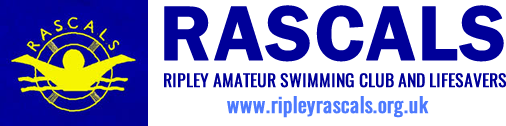 Ripley Rascals Swimming Club Mobile Logo